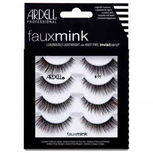 Ardell Faux Mink Lashes - #811 4 Pack