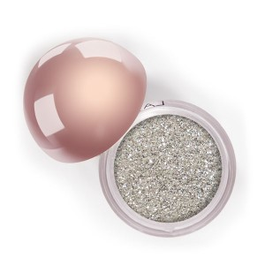 LA Splash Crystallized Glitter - Platinum Fizz