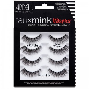 Ardell Faux Mink Lashes - Demi Wispies 4 Pack