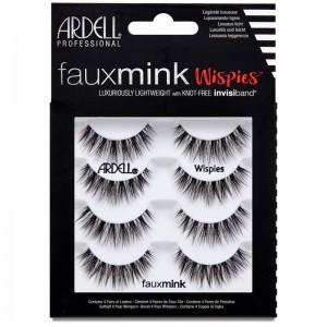 Ardell Faux Mink Lashes - Wispies 4 Pack