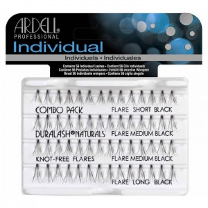 Ardell Individual Knot-Free Flares - Combo Pack
