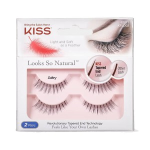 Kiss Looks So Natural Lashes Double Pack - Sultry