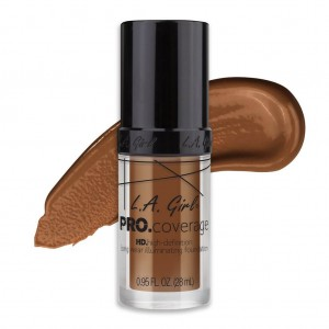 L.A. Girl PRO Coverage HD Foundation - Coffee