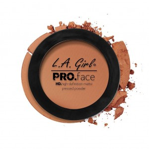 L.A. Girl HD Pro Face Pressed Powder - Chestnut