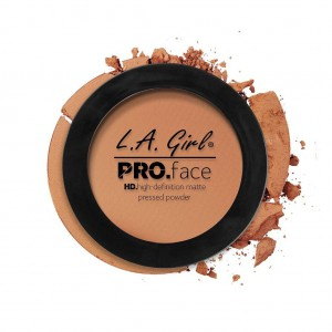 L.A. Girl HD Pro Face Pressed Powder - Warm Caramel