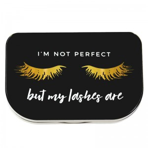 Lilly Lashes I'm Not Perfect Lash Storage Case