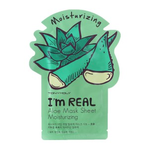 Tony Moly I'm Real Aloe Sheet Mask