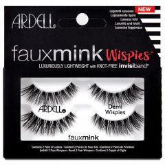 Ardell Faux Mink Lashes Demi Wispies Twin Pack