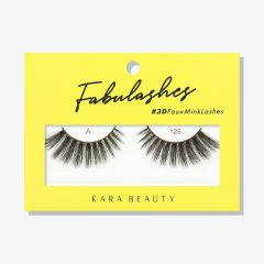 Kara Beauty 3D Faux Mink Lashes A126