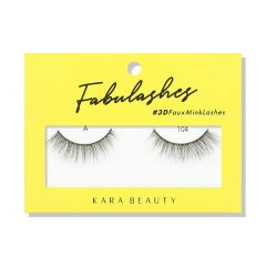 Kara Beauty 3D Faux Mink Lashes A104