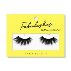 Kara Beauty 3D Faux Mink Lashes A12