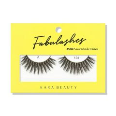 Kara Beauty 3D Faux Mink Lashes A124