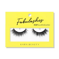 Kara Beauty 3D Faux Mink Lashes A14