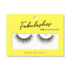 Kara Beauty 3D Faux Mink Lashes A53