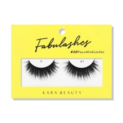 Kara Beauty 3D Faux Mink Lashes A61