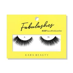 Kara Beauty 3D Faux Mink Lashes A70