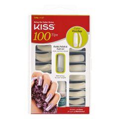 Kiss 100 Full Cover Nail Kit Curve Overlap Nageltips