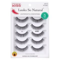 Kiss Looks So Natural Lashes Multipack - Shy