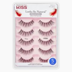 Kiss Looks So Natural Lashes Multipack - Poise