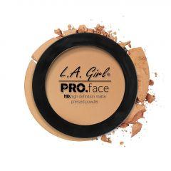 L.A. Girl HD Pro Face Pressed Powder - Medium Beige