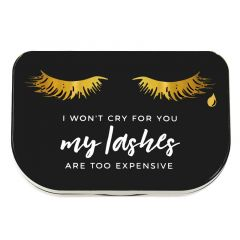 Lilly Lashes I Won't Cry For You Lash Storage Case