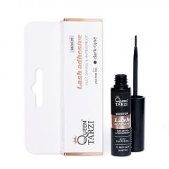 Queen Tarzi Brush-on Lash Adhesive Dark-tone