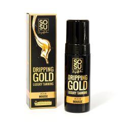 SOSU Dripping Gold Luxury Tanning Mousse Medium