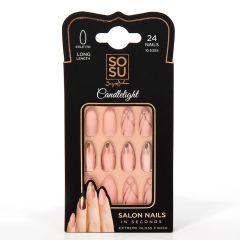 SOSU by SJ False Nails Candlelight