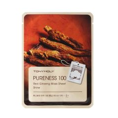 Tony Moly Pureness 100 Red Ginseng Sheet Mask